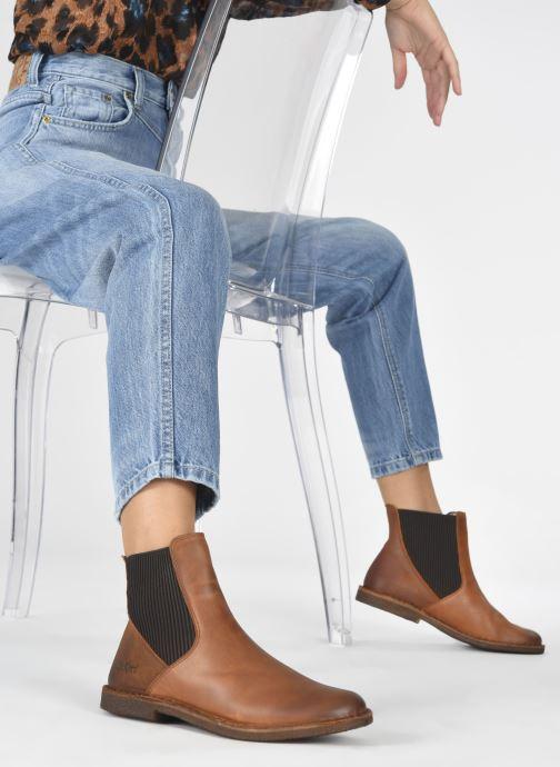 Stiefeletten & Boots Kickers TINTO 654393 braun ansicht von unten / tasche getragen