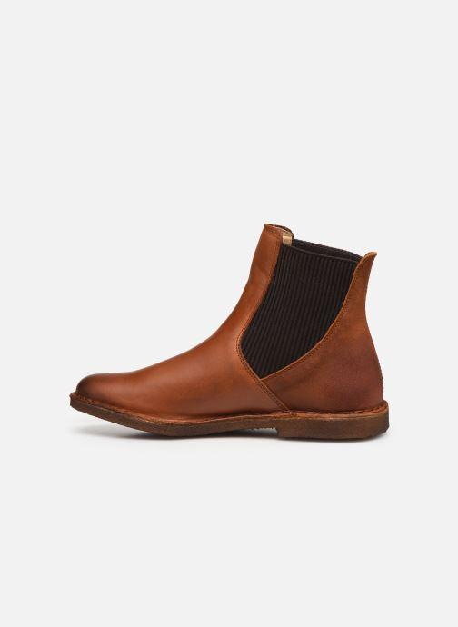 Stiefeletten & Boots Kickers TINTO 654393 braun ansicht von vorne