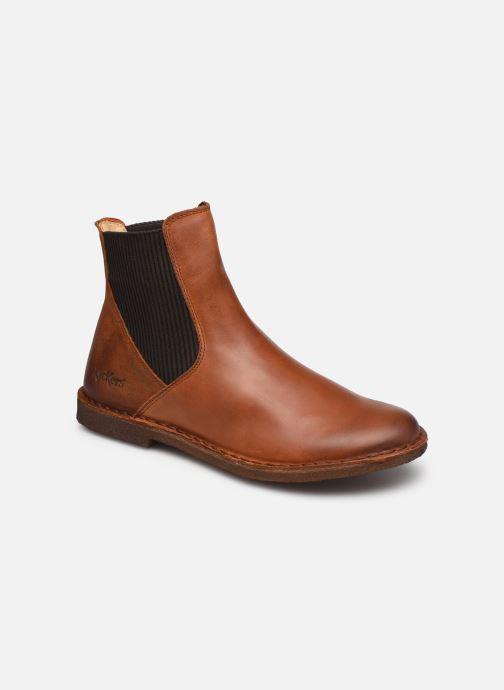 Stiefeletten & Boots Kickers TINTO 654393 braun detaillierte ansicht/modell