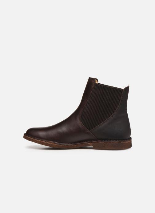 Bottines et boots Kickers TINTO 654393 Marron vue face