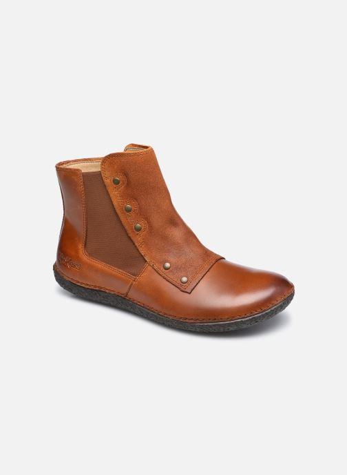 Stiefeletten & Boots Kickers HAPPLI 576064 braun detaillierte ansicht/modell