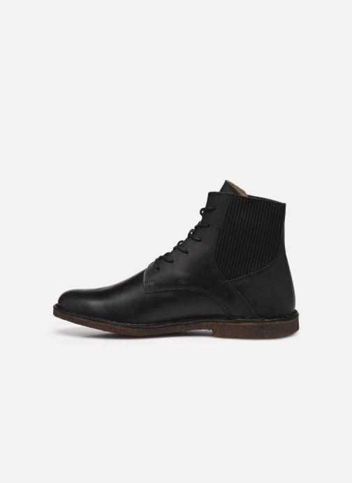 Stiefeletten & Boots Kickers TITI 654453 schwarz ansicht von vorne