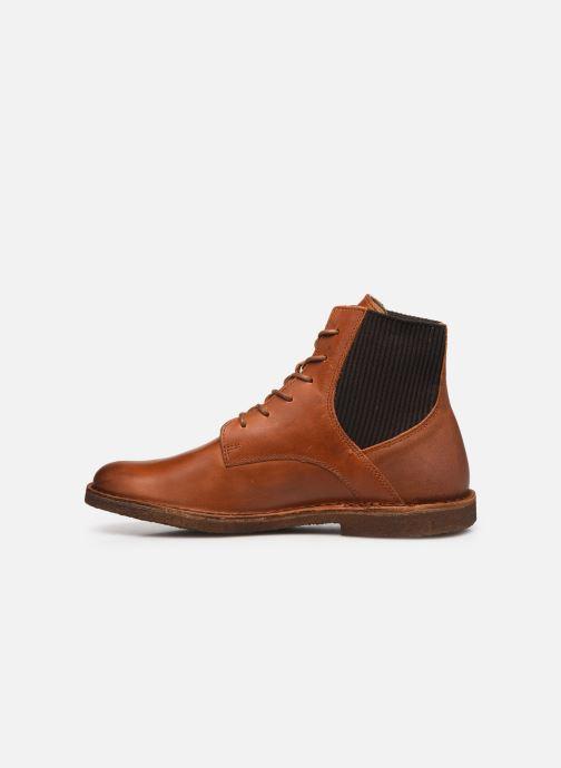 Bottines et boots Kickers TITI 654453 Marron vue face