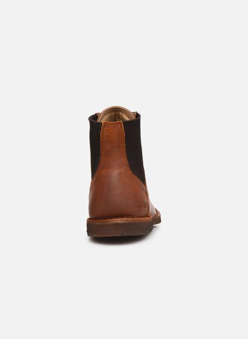 Bottines et boots Kickers TITI 654453 Marron vue droite