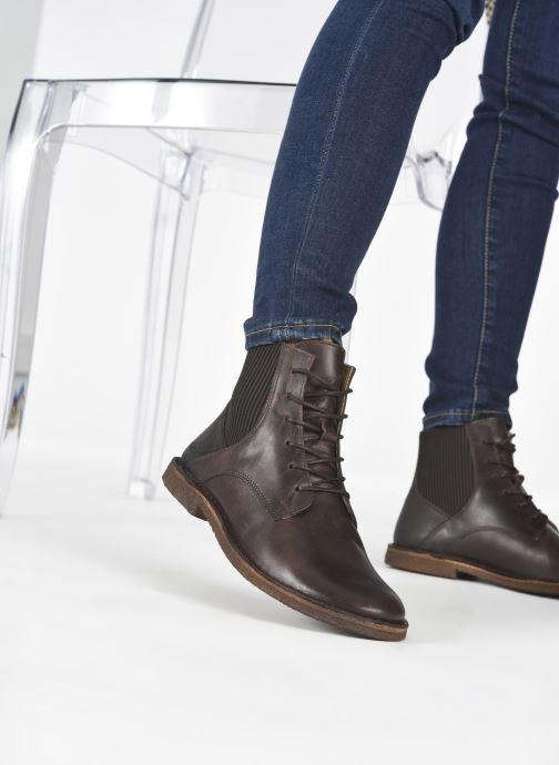Stiefeletten & Boots Kickers TITI 654453 braun ansicht von unten / tasche getragen