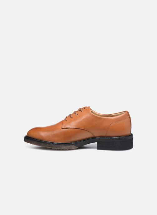 Zapatos con cordones Kickers ALPHADERB Marrón vista de frente