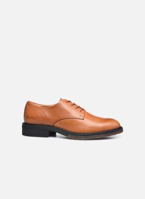 Zapatos con cordones Kickers ALPHADERB Marrón vistra trasera