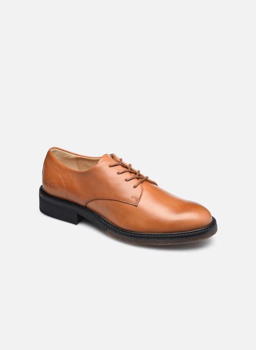 Zapatos con cordones Kickers ALPHADERB Marrón vista de detalle / par