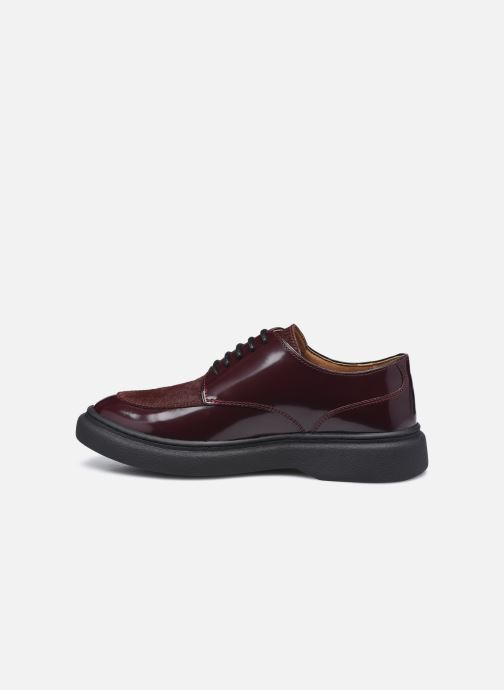 Chaussures à lacets Kickers ORIGAMANIA Bordeaux vue face
