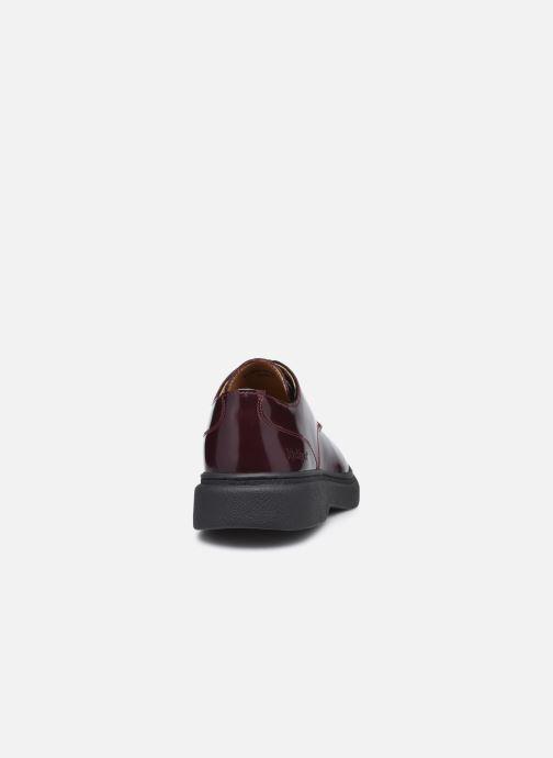 Chaussures à lacets Kickers ORIGAMANIA Bordeaux vue droite