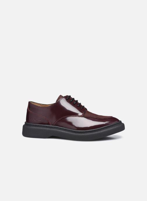 Chaussures à lacets Kickers ORIGAMANIA Bordeaux vue derrière