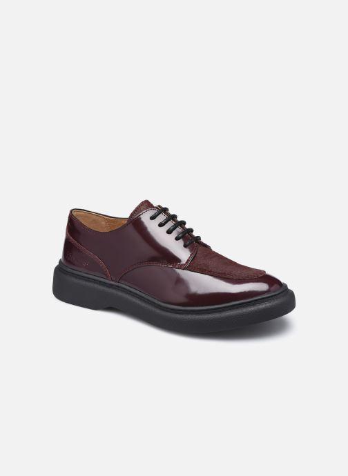 Chaussures à lacets Kickers ORIGAMANIA Bordeaux vue détail/paire