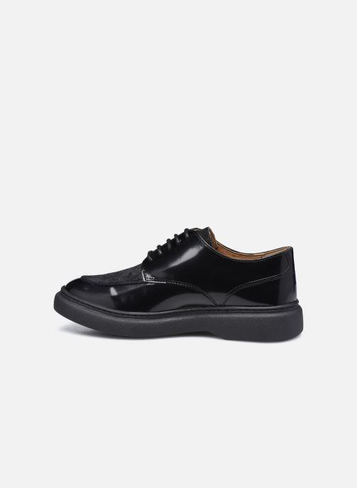 Zapatos con cordones Kickers ORIGAMANIA Negro vista de frente