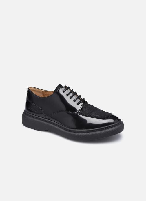 Zapatos con cordones Kickers ORIGAMANIA Negro vista de detalle / par