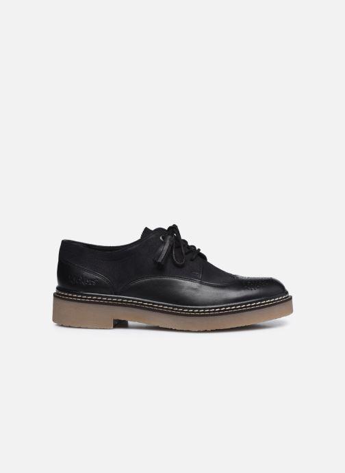 Chaussures à lacets Kickers OXANYBY Noir vue derrière