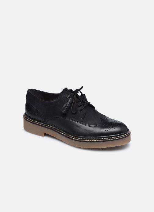 Chaussures à lacets Kickers OXANYBY Noir vue détail/paire