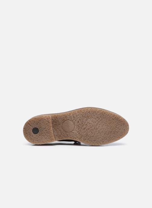 Scarpe con lacci Kickers OXANYBY Marrone immagine dall'alto
