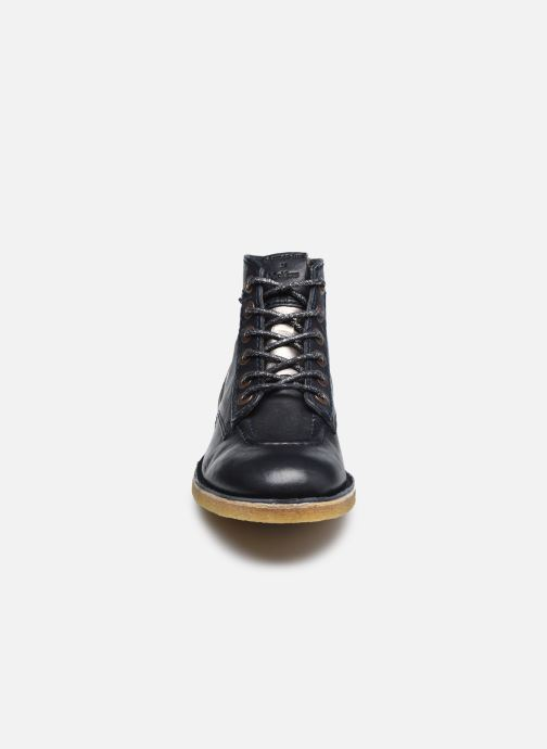 Stiefeletten & Boots Kickers ARMOR LEGEND F blau schuhe getragen