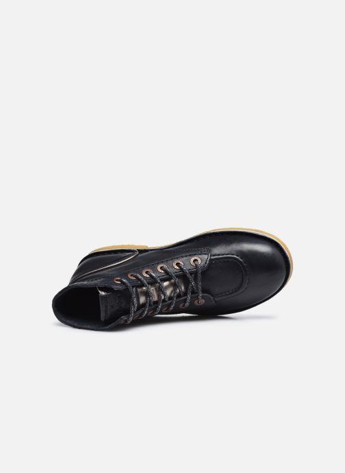 Stiefeletten & Boots Kickers ARMOR LEGEND F blau ansicht von links