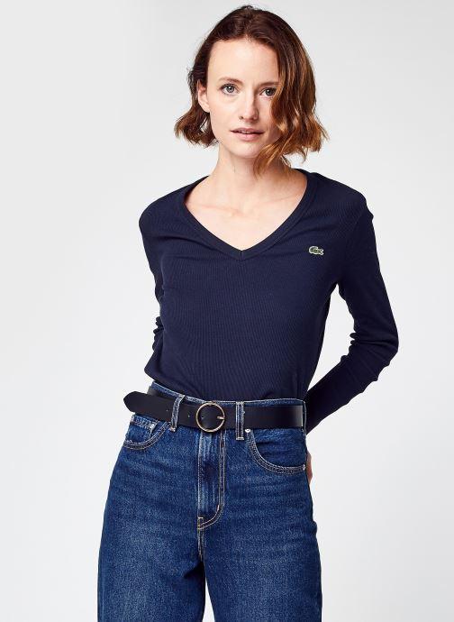 Vêtements Accessoires Pull ML Col V Lacoste F