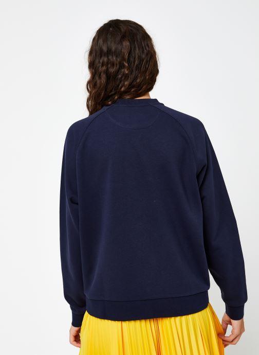 Vêtements Lacoste SF2400 Bleu vue portées chaussures