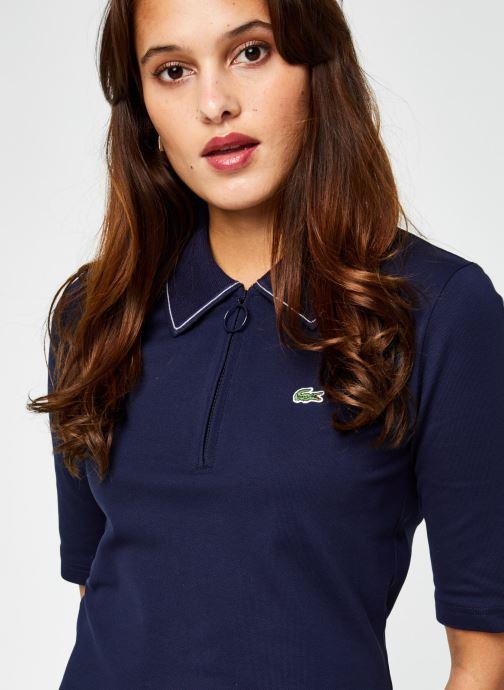Vêtements Lacoste EF2299 Bleu vue face