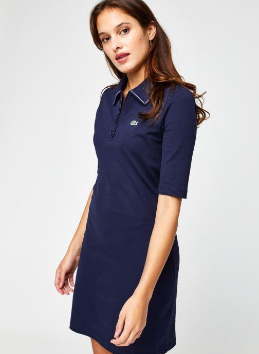 Vêtements Lacoste EF2299 Bleu vue droite