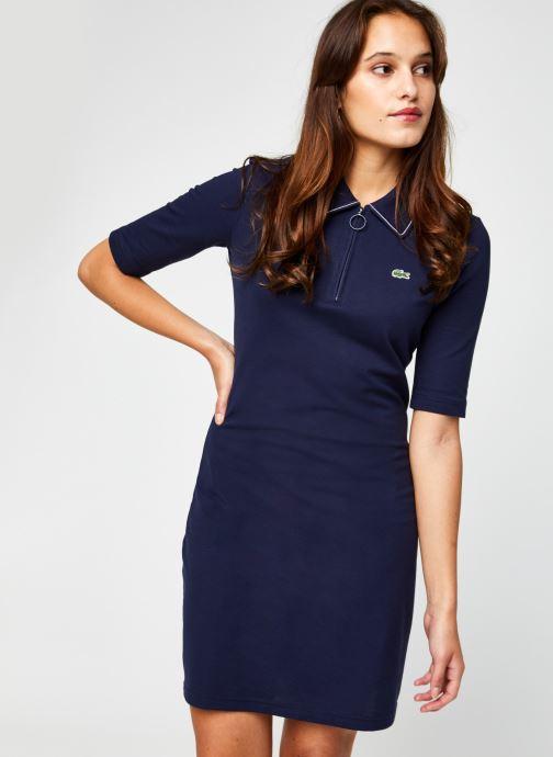 Vêtements Lacoste EF2299 Bleu vue détail/paire