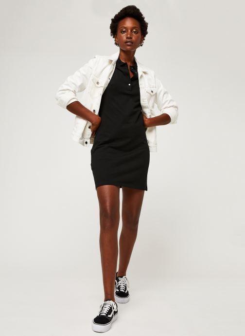 Vêtements Lacoste Robe EF5473-00 Noir vue bas / vue portée sac