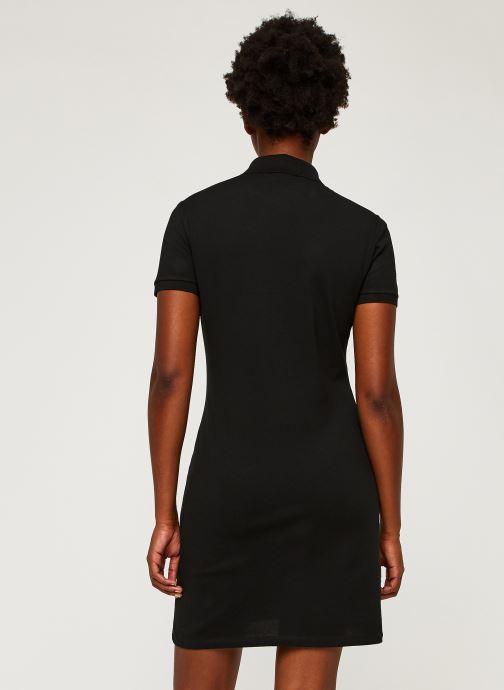 Vêtements Lacoste Robe EF5473-00 Noir vue portées chaussures