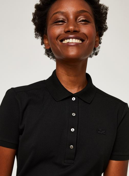Vêtements Lacoste Robe EF5473-00 Noir vue face