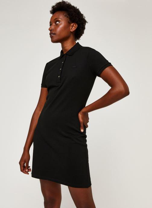 Vêtements Lacoste Robe EF5473-00 Noir vue droite
