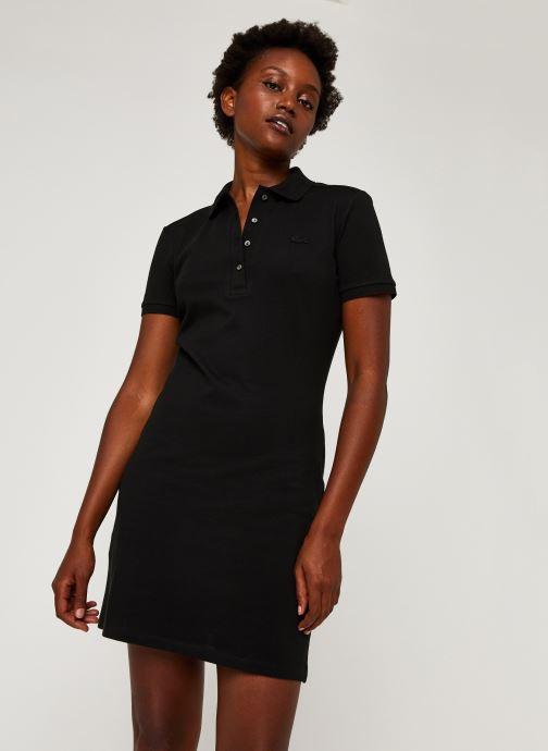 Vêtements Lacoste Robe EF5473-00 Noir vue détail/paire