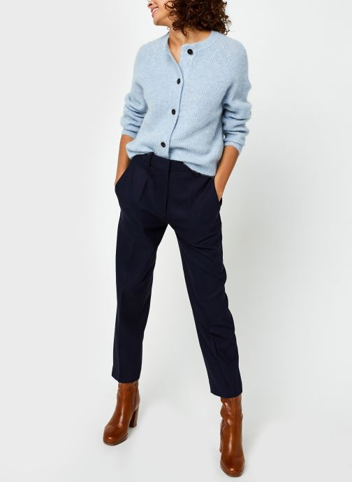 Vêtements Lacoste HF2477 Bleu vue bas / vue portée sac