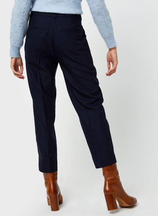 Vêtements Lacoste HF2477 Bleu vue portées chaussures