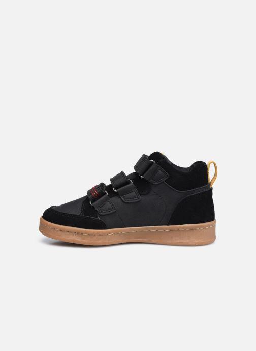 Sneaker Kickers Bilbon Velc schwarz ansicht von vorne