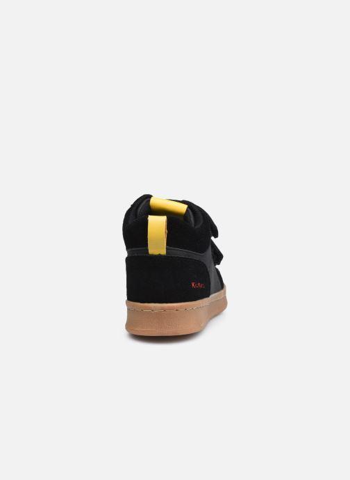 Baskets Kickers Bilbon Velc Noir vue droite