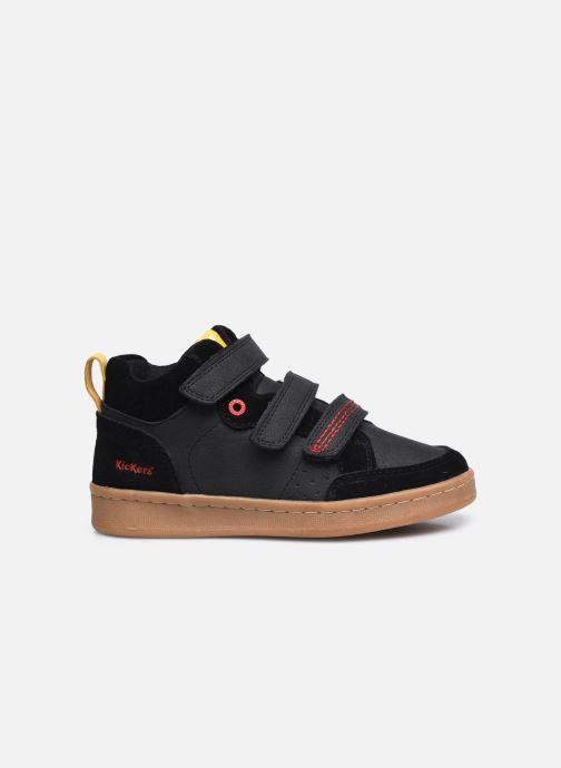 Sneaker Kickers Bilbon Velc schwarz ansicht von hinten