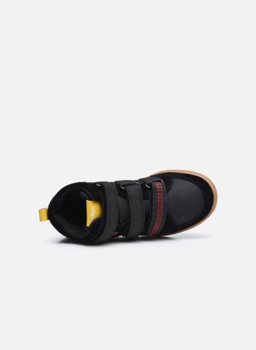 Baskets Kickers Bilbon Velc Noir vue gauche