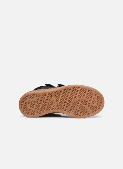 Baskets Kickers Bilbon Velc Noir vue haut