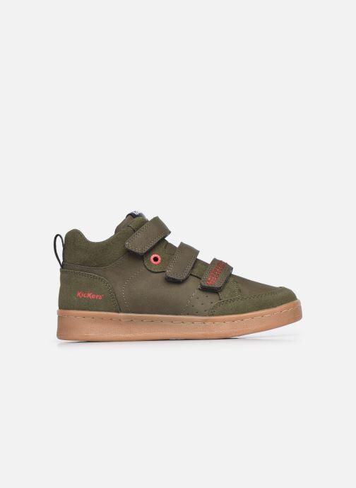 Sneaker Kickers Bilbon Velc grün ansicht von hinten