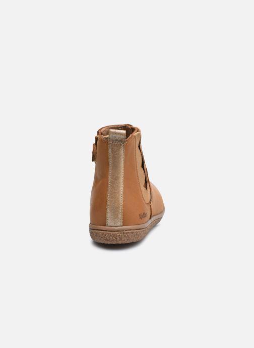 Stiefeletten & Boots Kickers Vetudi braun ansicht von rechts