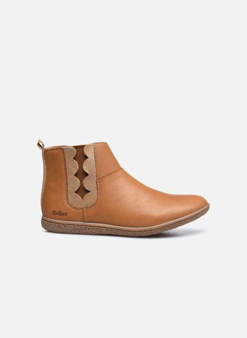 Stiefeletten & Boots Kickers Vetudi braun ansicht von hinten