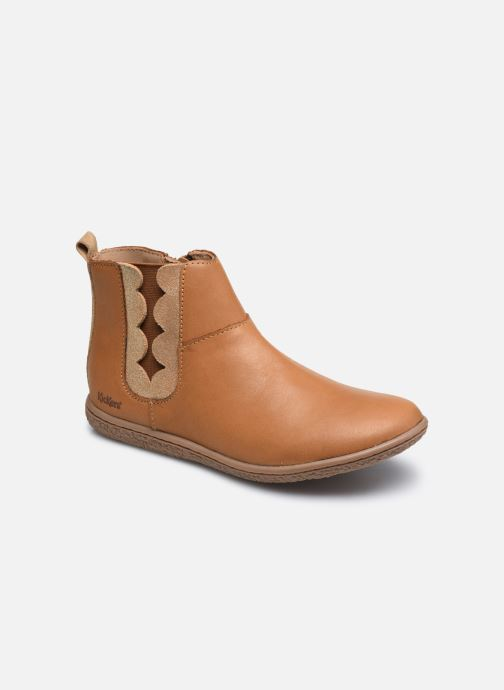 Bottines et boots Kickers Vetudi Marron vue détail/paire