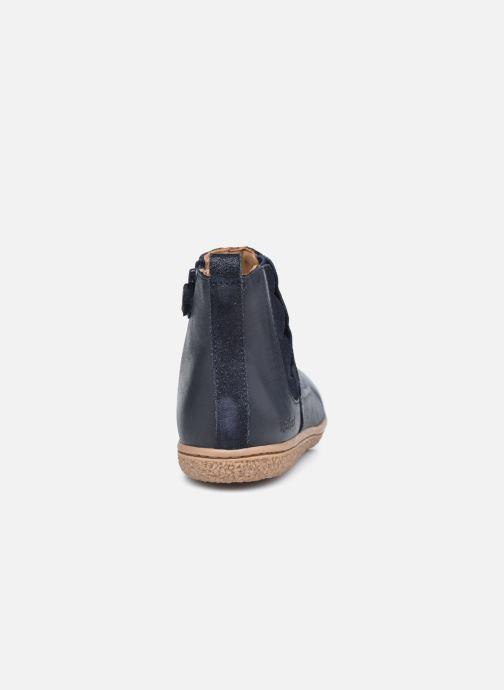 Stiefeletten & Boots Kickers Vetudi blau ansicht von rechts