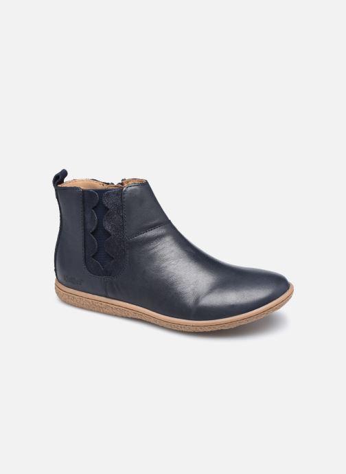 Bottines et boots Kickers Vetudi Bleu vue détail/paire