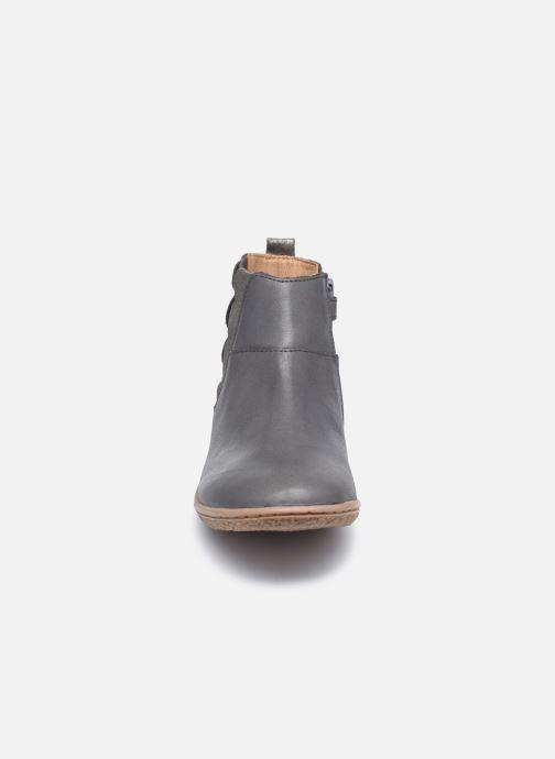 Bottines et boots Kickers Vetudi Gris vue portées chaussures