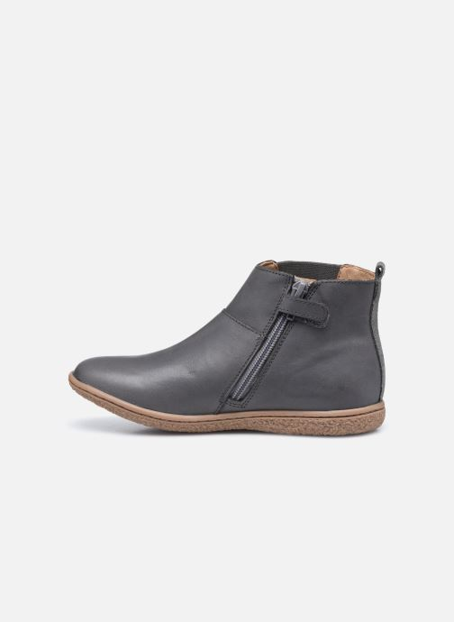 Bottines et boots Kickers Vetudi Gris vue face