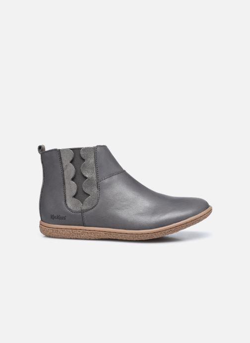 Stiefeletten & Boots Kickers Vetudi grau ansicht von hinten