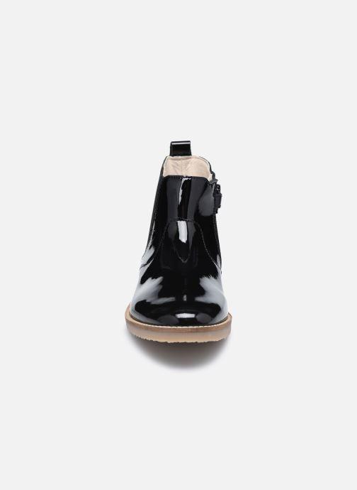 Stiefeletten & Boots Kickers Typik schwarz schuhe getragen